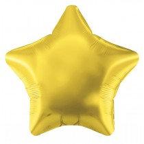 Gold Foil Star Balloon