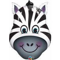 Super Shaped Zebra Foil Balloon