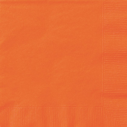 Orange Luncheon Napkins