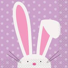 Cute Easter Small Napkins