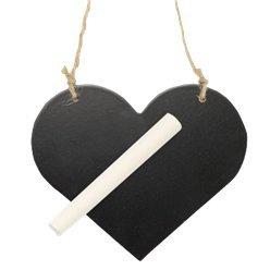 Heart Chalk Board Sign