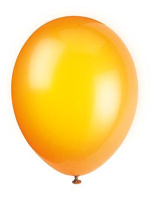 """Orange 11"""" Latex Balloons"""