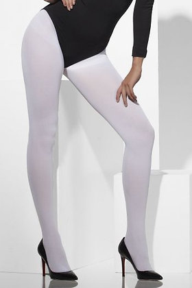 Adult White Tights