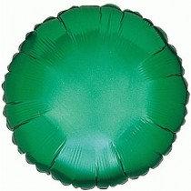 Green Round Foil Balloon