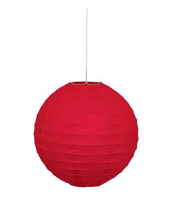 """Red 10"""" Paper Lantern"""