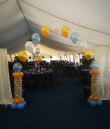 Prom Arch Installation