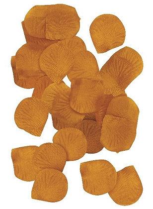 Gold Fabric Petals