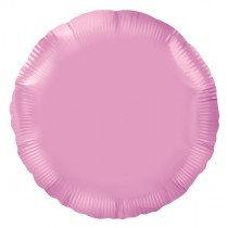 Pink Round Foil Balloon