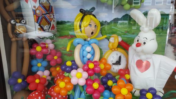 Wonderland Window Display