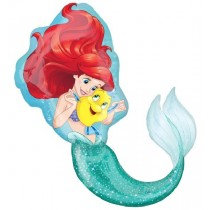 Super Shaped Little Mermaid  Balloon
