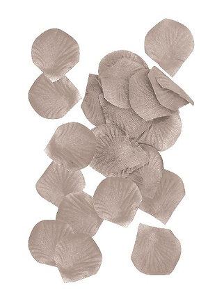 Silver Fabric Petals
