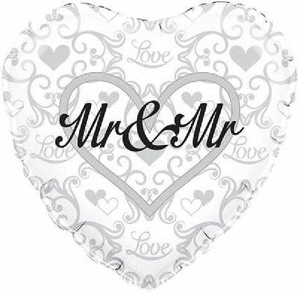 Mr & Mr Foil Balloon