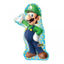 Super Shaped Luigi Foil Balloon