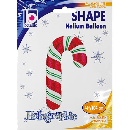 Candy Cane Super Shape Balloon