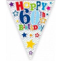 Happy 60th Birthday Bunting
