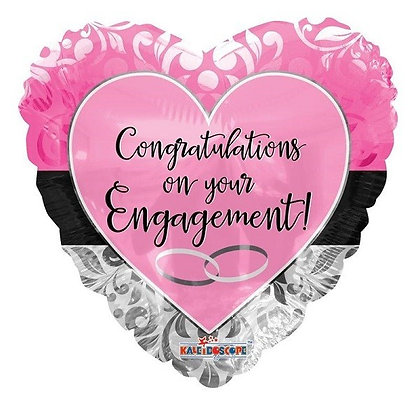 Engagement Foil Balloon