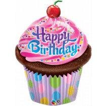 Birthday Cup Cake Super Shape