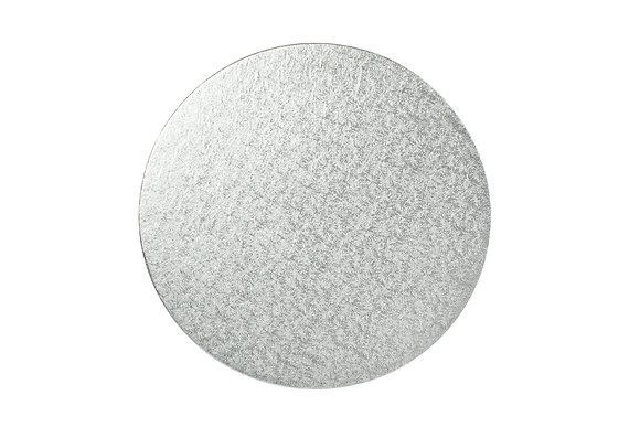 Silver Round Cake Drums