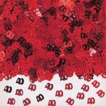 Red 40 Confetti