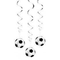 Soccer Swirl Decoration