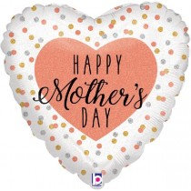 Glittering Rose Gold Mothers Day Std Foil Balloon
