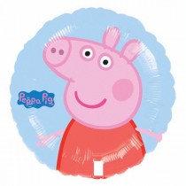 Peppa Pig Foil Balloon Blue