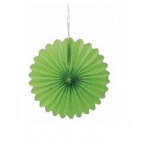 Lime Mini Paper Fans