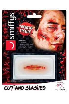 Cut & Slashed Horror Wound Transfer