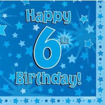 Blue Age 6 Napkin