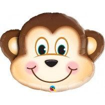 Super Shaped Monkey Foil Balloon
