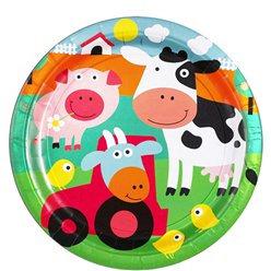 Farm Fun Plates