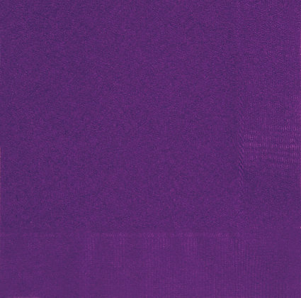 Purple Luncheon Napkins