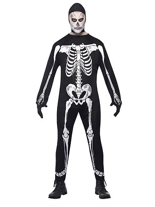 Skeleton Jumpsuit - Adult Men's