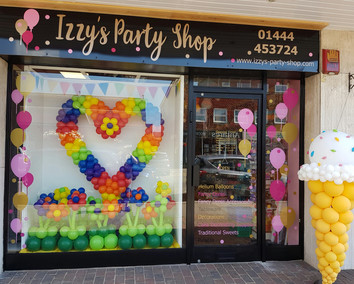 The Home Of Izzys Party Shop