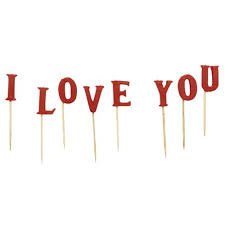 I Love You Letter Candle Set