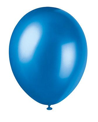 """Royal Blue 11"""" Latex Balloons"""