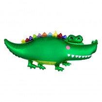 Happy Gator Super Shape Foil Balloon