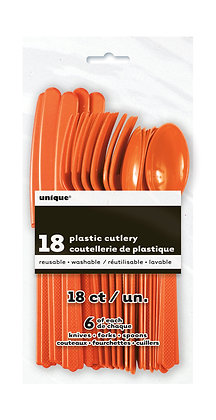 Orange Cutlery