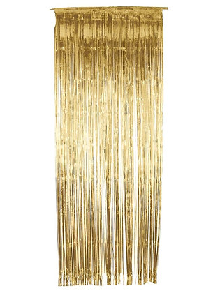 Gold Door Curtain