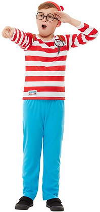 Deluxe Where's Wally Children's Costume