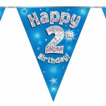 Blue Age 2 Bunting