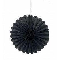 Black Mini Paper Fans