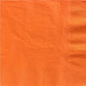 Orange Dinner Napkins