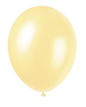 "Ivory 11"" Latex Balloons"