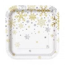 Holiday Snowflakes Small Plates