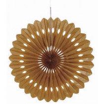Gold Paper Fan