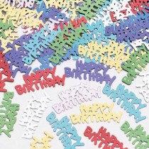 Multi-Colour Happy Birthday Confetti