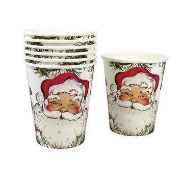 Botanical Santa Cups