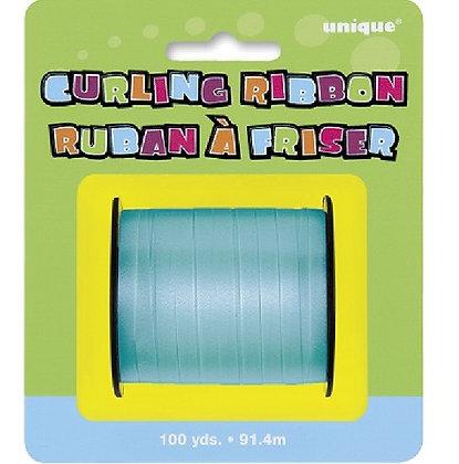 Teal Curling Ribbon