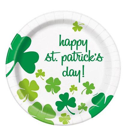 St Patrick's Day Plates